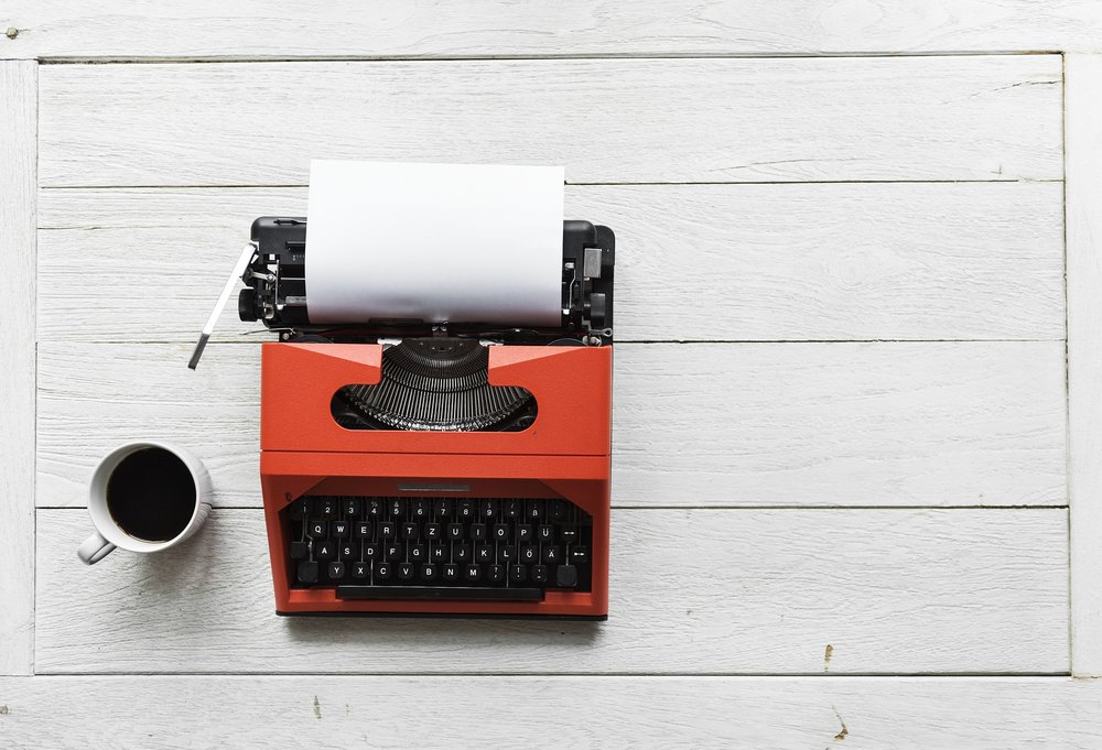 Pixabay - typewriter