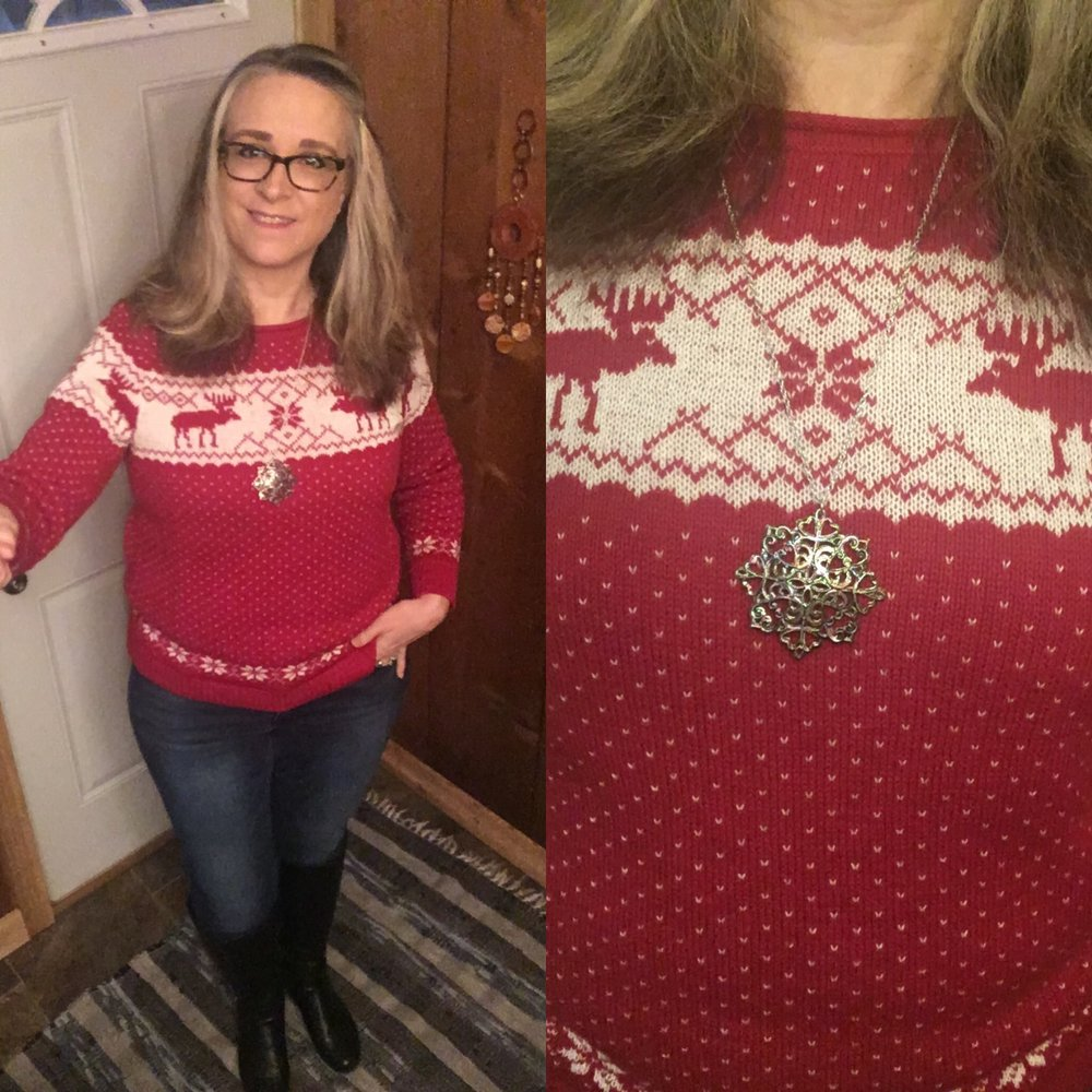 20 Days of Christmas - reindeer sweater
