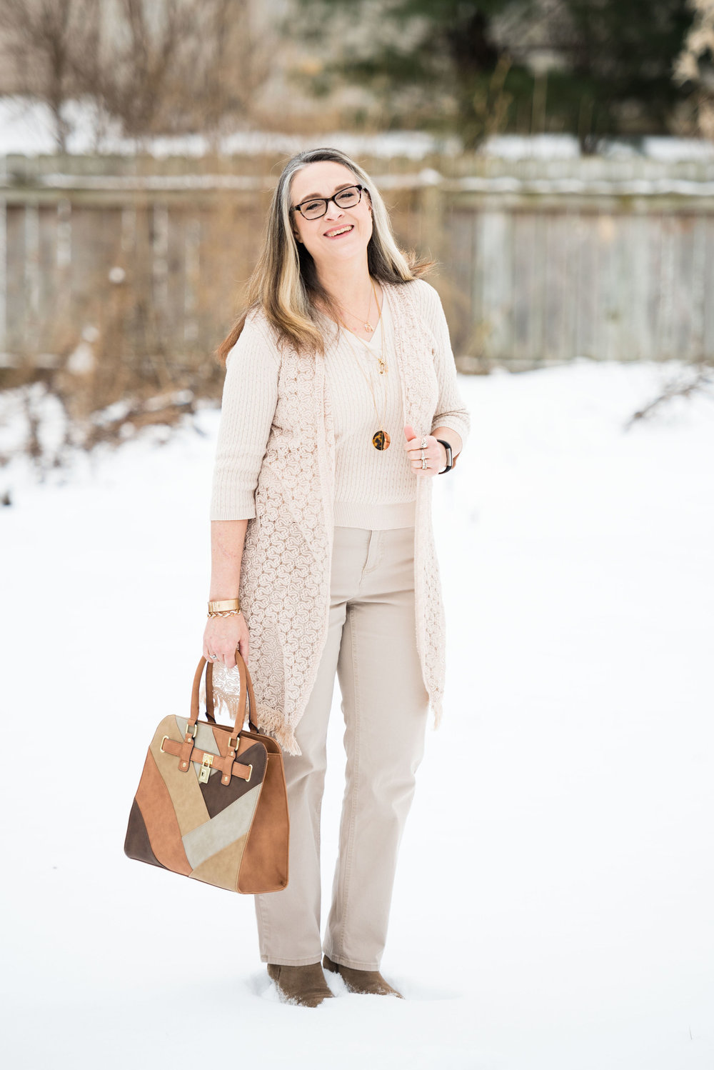 Spring Trends - Head to Toe Neutral