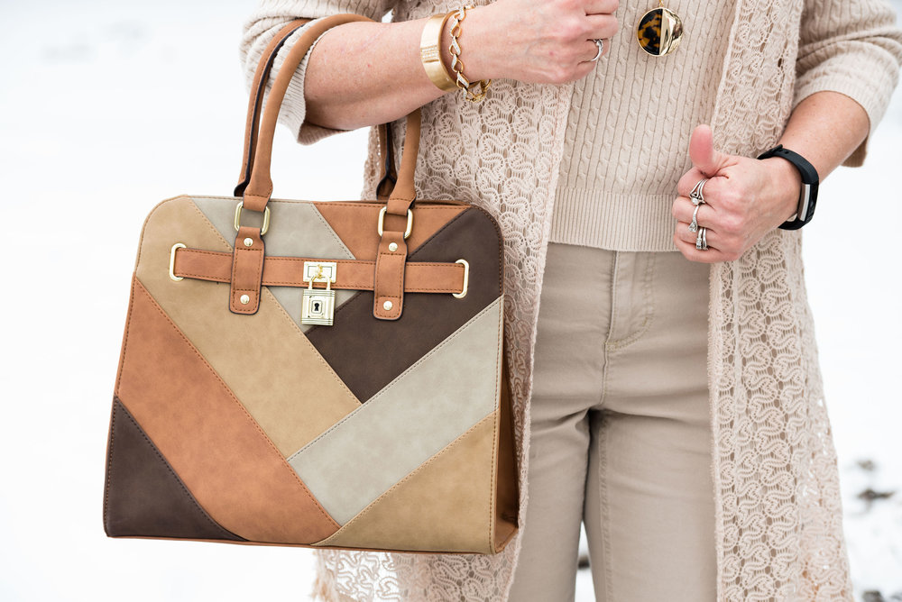 Spring trends - head to toe neutrals