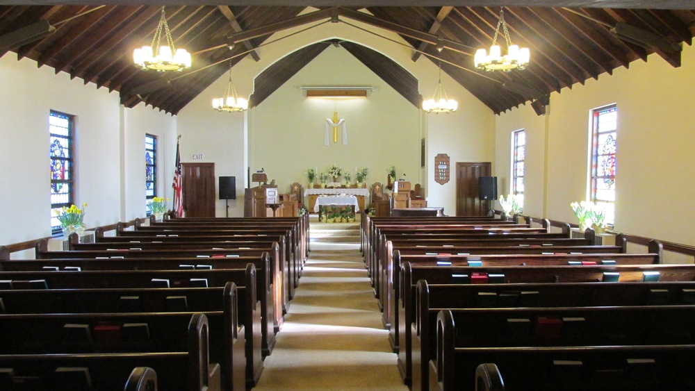 Sanctuary of First Church