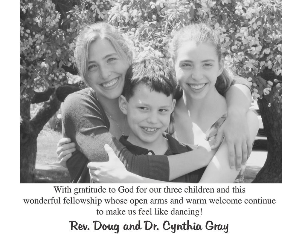 Rev. Doug and Dr. Cynthia Gray Family