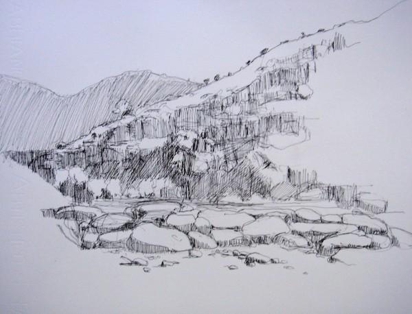 Flinder's Sketching