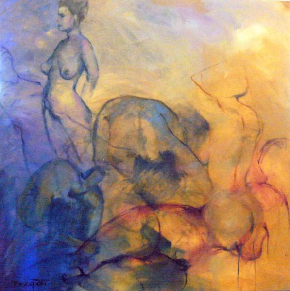Atelier, oil (sold)