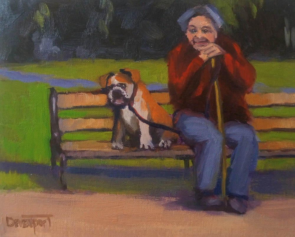 Kindred Spirits, oil (sold)