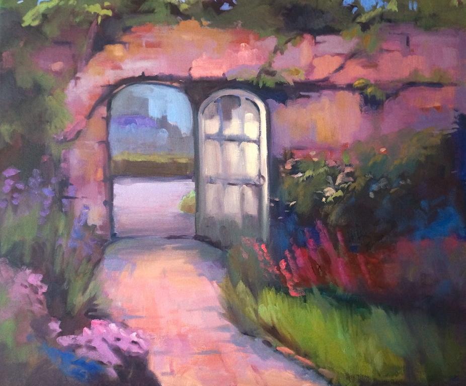 """Secret Garden, oil, 20"""" x 24"""""""