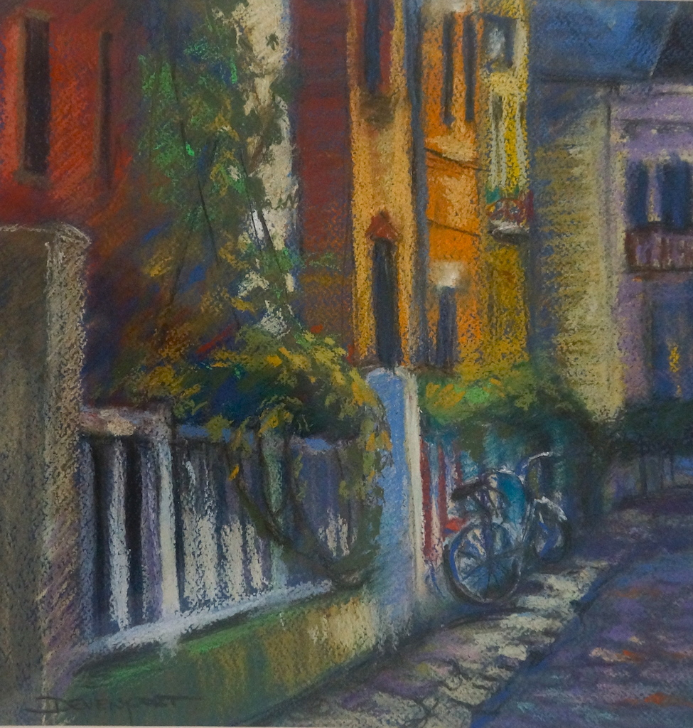 La Bicyclette, pastel
