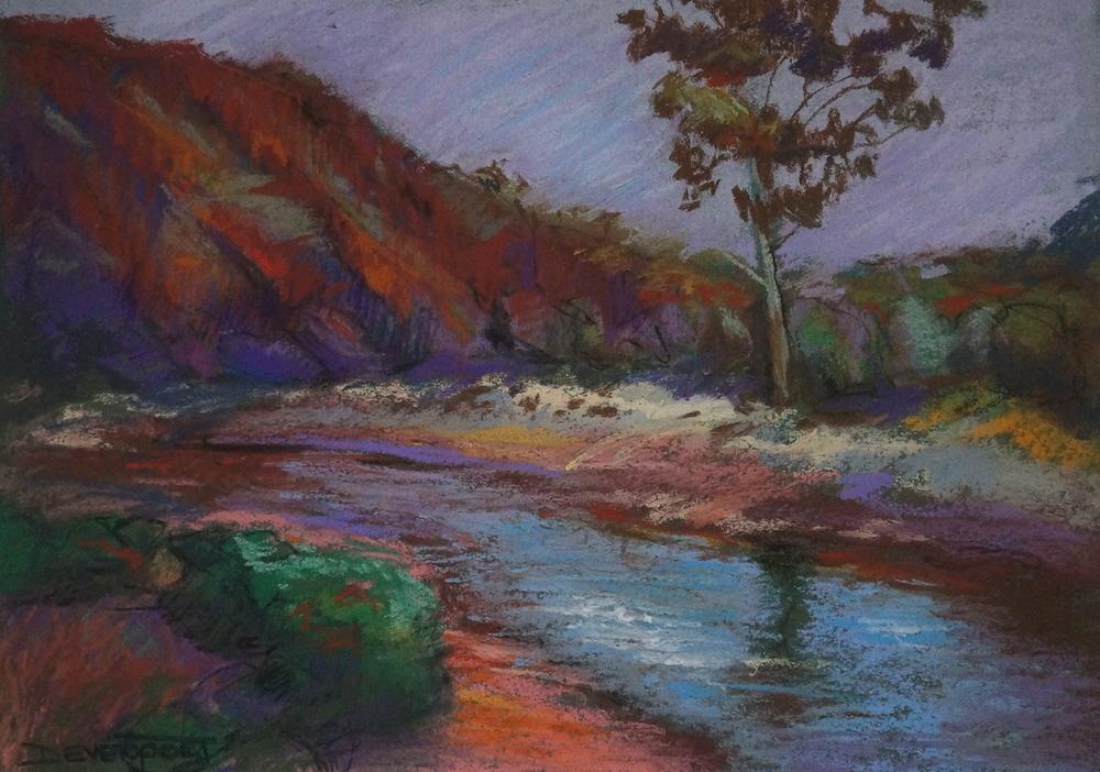Flinder's Ranges, pastel