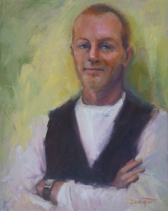 Portrait of Martin Faulkner (commission)