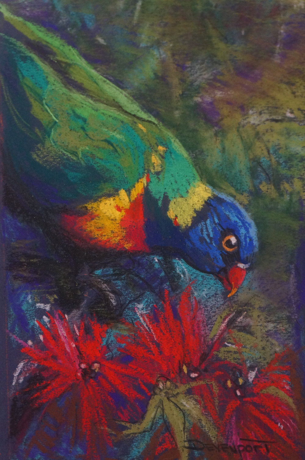 """Chatterbox 9""""x5"""" (pastel) - sold"""
