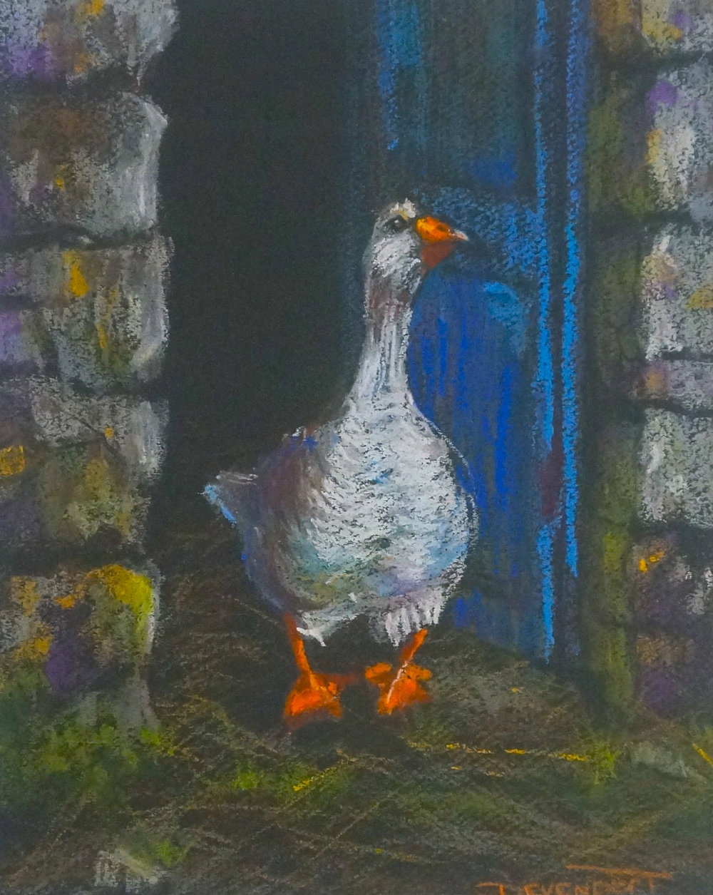 The Great Escape (pastel)