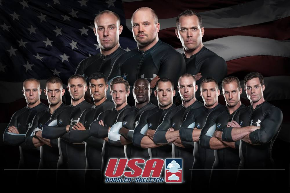 USA Men's National Bobsled Team 2014