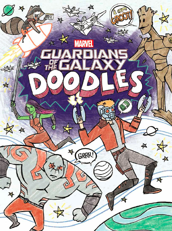 Guardians of the Galaxy Doodle Book