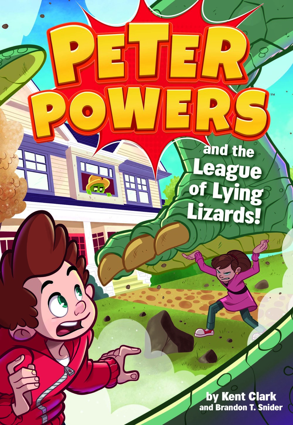 Peter Powers: League Lying Lizards