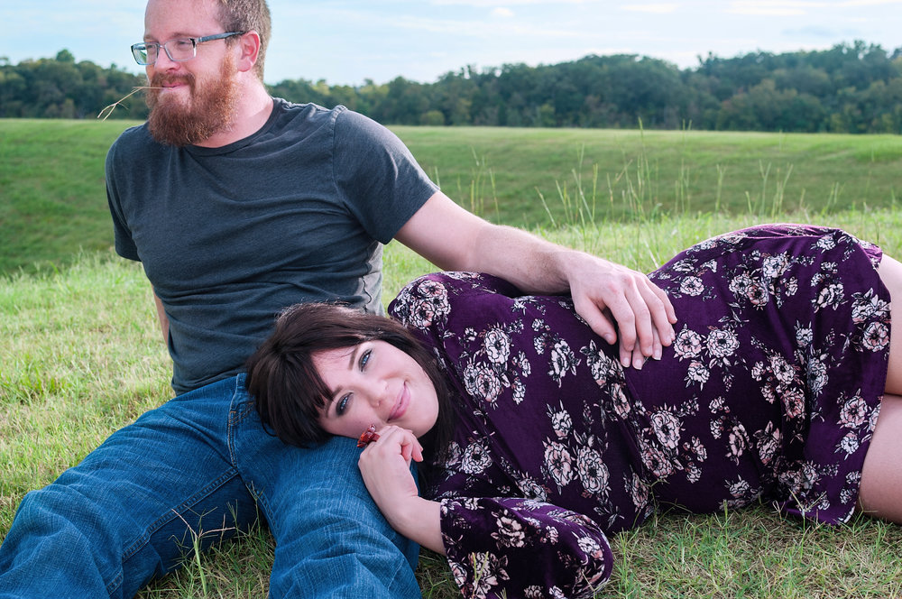 Couples Maternity On Location Portrait Session by Bella Sol Portraits