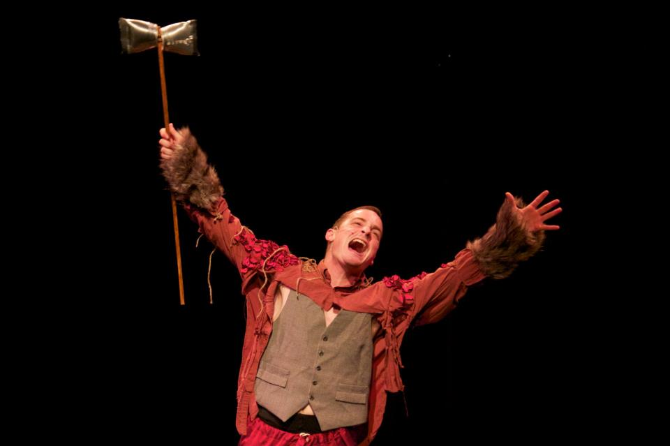 Jake Bridges as Rumpelstiltskin | Photo by Hunter Pedane (2012)
