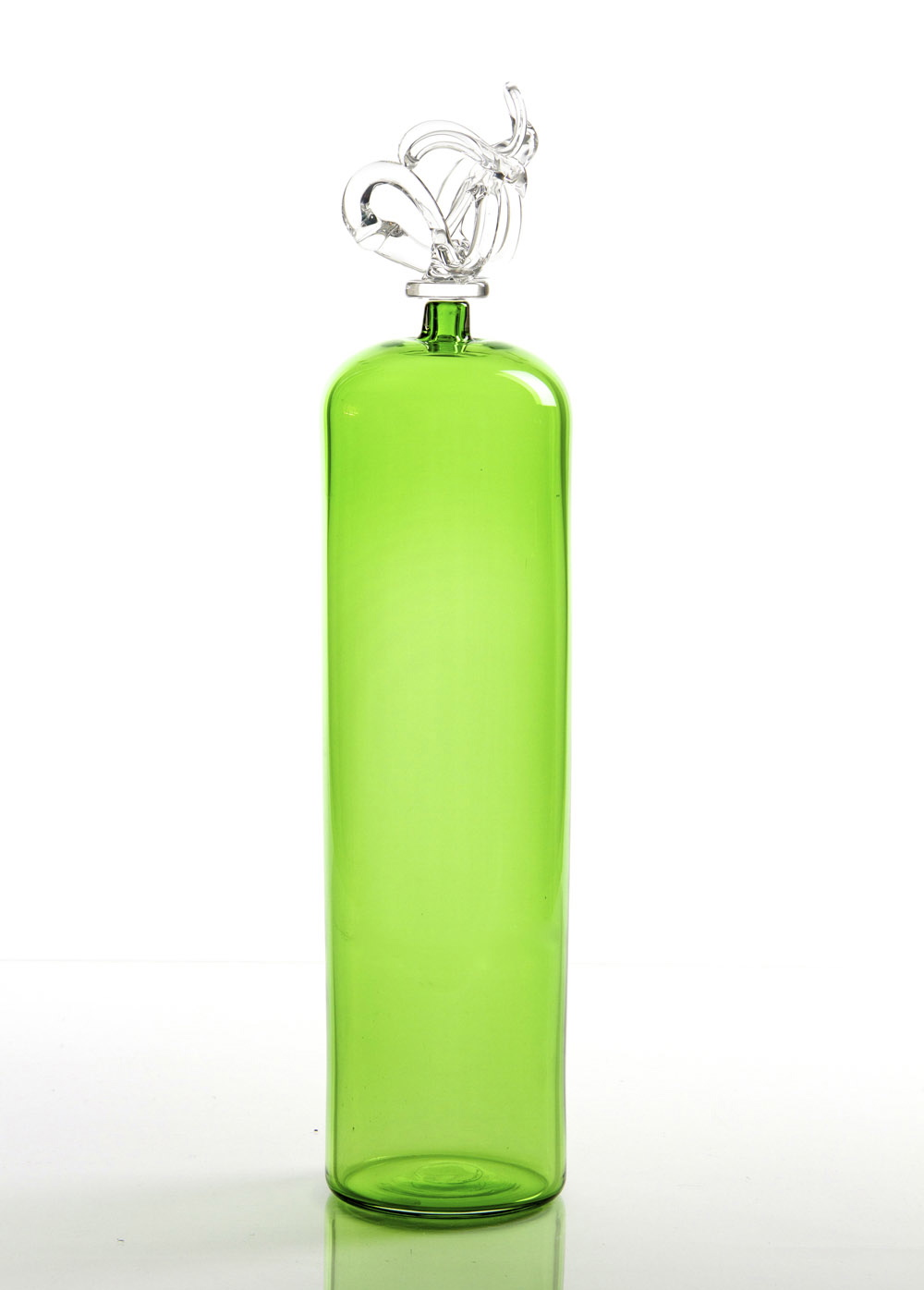 "GRASS NARROW CYLINDER BOTTLE 4.25""D x 16""H"
