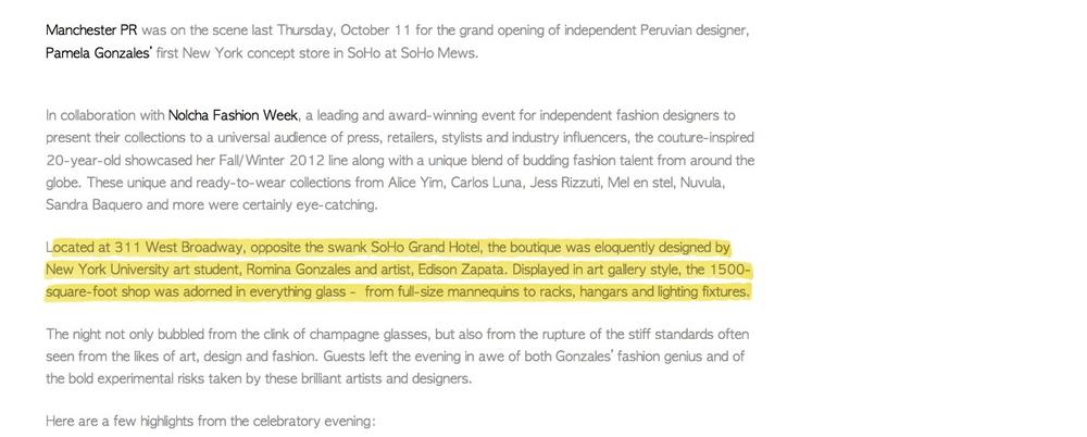 ManchesterPR - Designer Pamela Gonzales Opens First New York Concept Store in SoHo 2.jpg