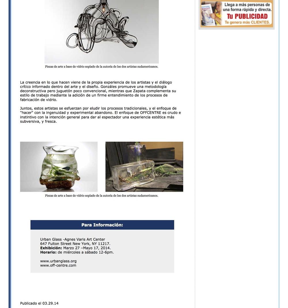 Westchester Hispano - Artistas hispanos exhiben arte innovador 2.jpg