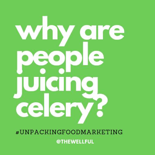 Celery Juice #celeryjuice Celery Juicing @thewellful thewellful.com