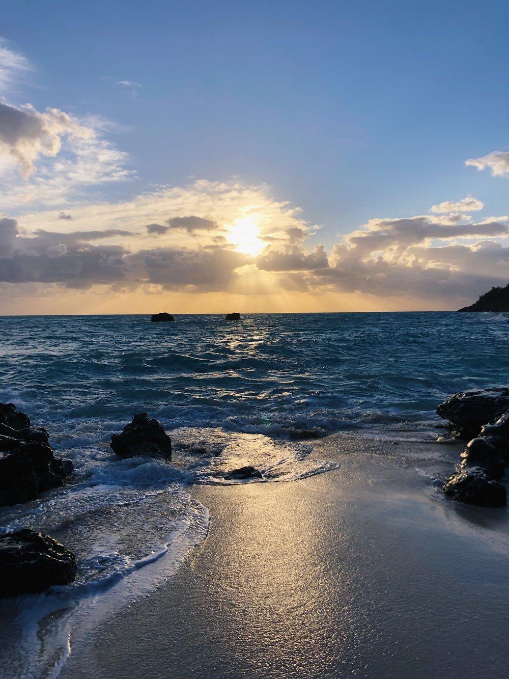 Church Bay Sunset