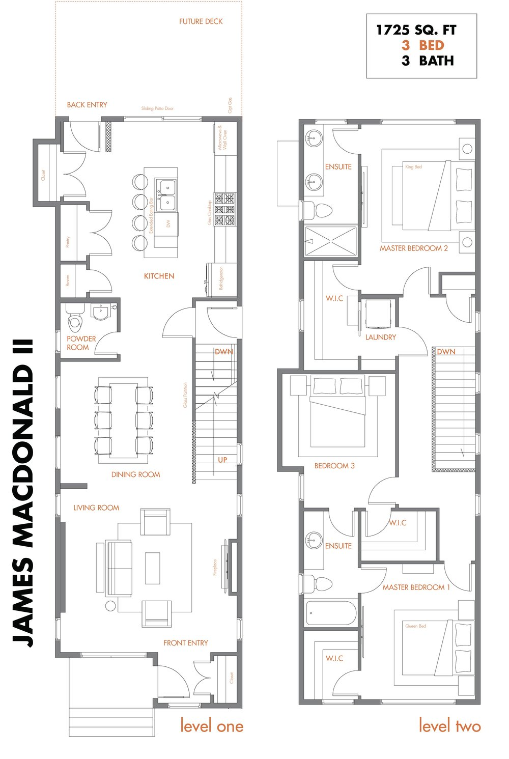 ENJames MacDonald Model Accent Infills Edmonton Skinny Homes