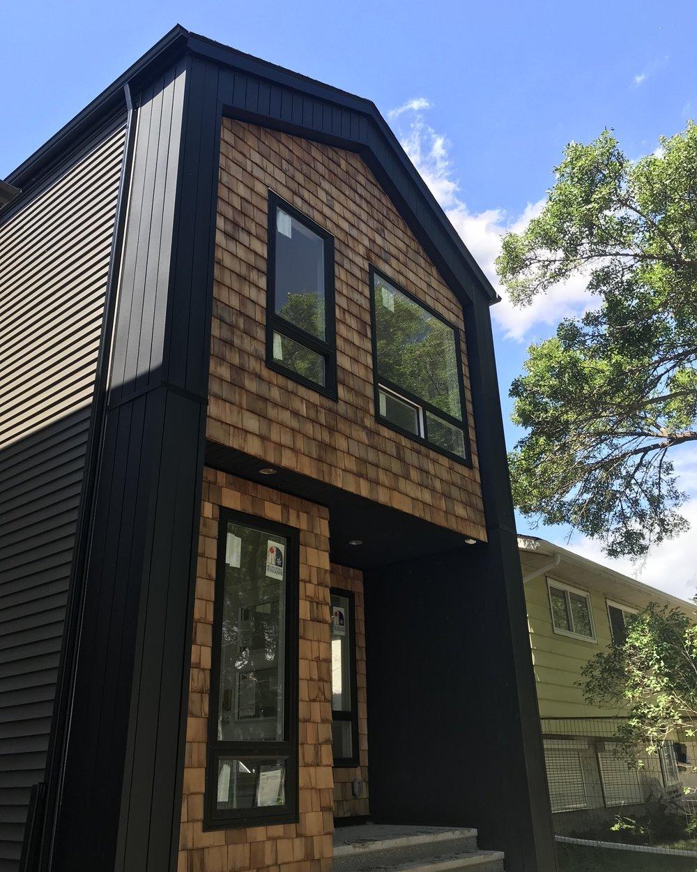 WESTMOUNT yeg infill Homes in Edmonton Accent Infills