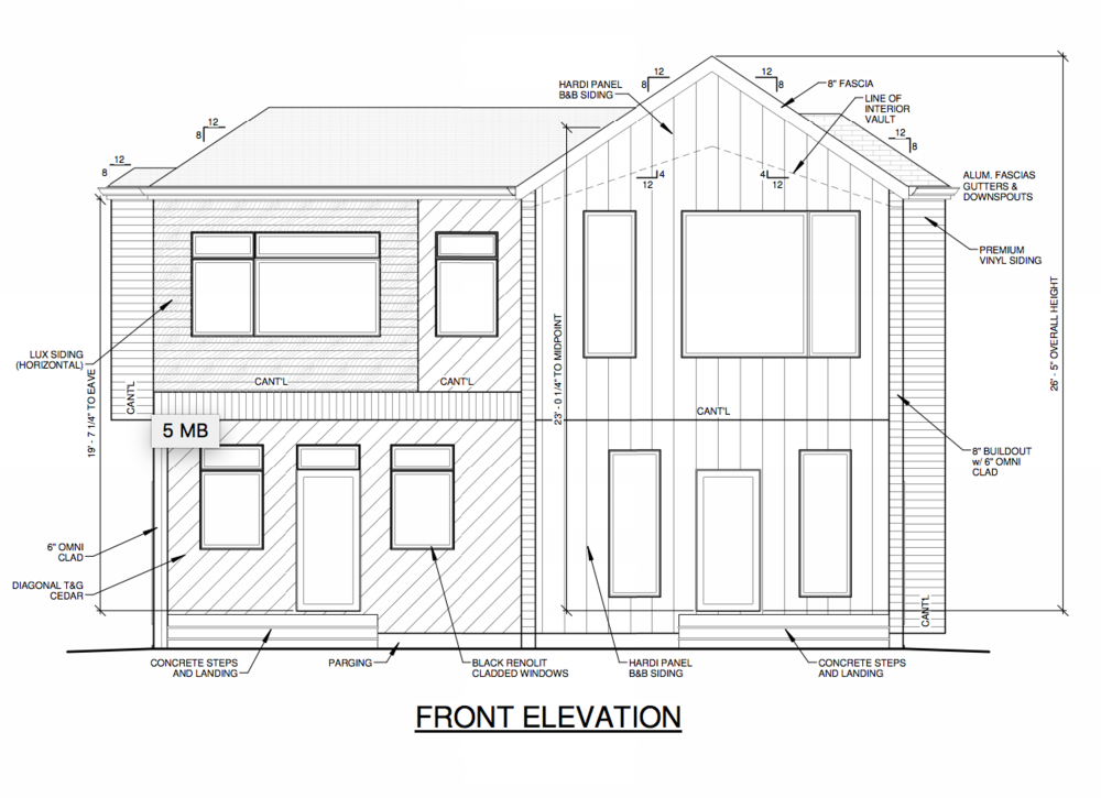 Winnifred Stewart Duplex Edmonton Infill