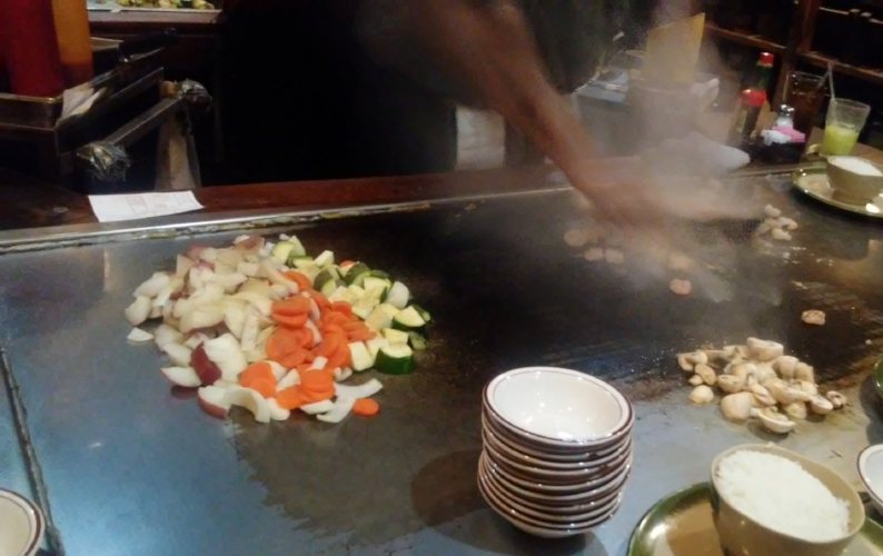My fun birthday dinner at Gojo's Japanese Steakhouse, in Kansas City, Missouri.