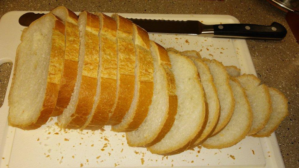 Slicing bread isn't that hard...