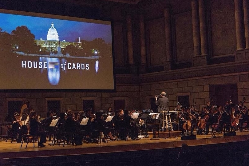 Empire Film and Media Ensemble conducted by Emmy award winning Jeff Beal at the Eastman School of Music in 2016.