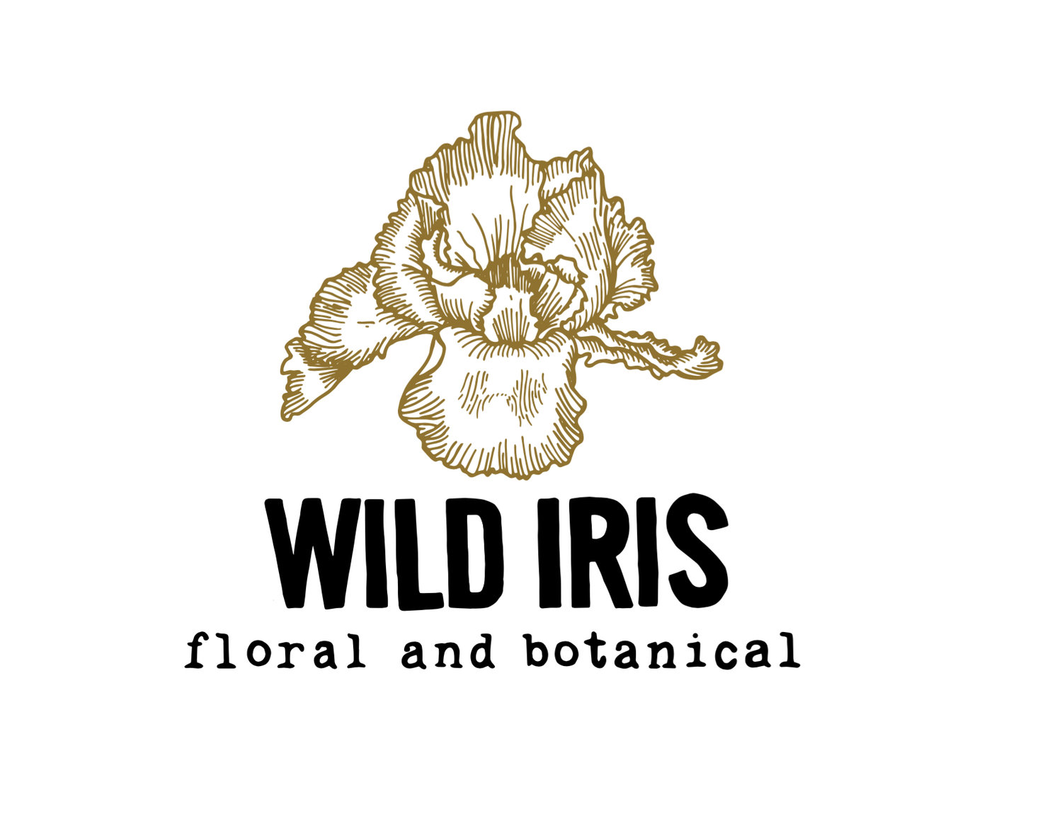 Wild Iris Floral and Botanical