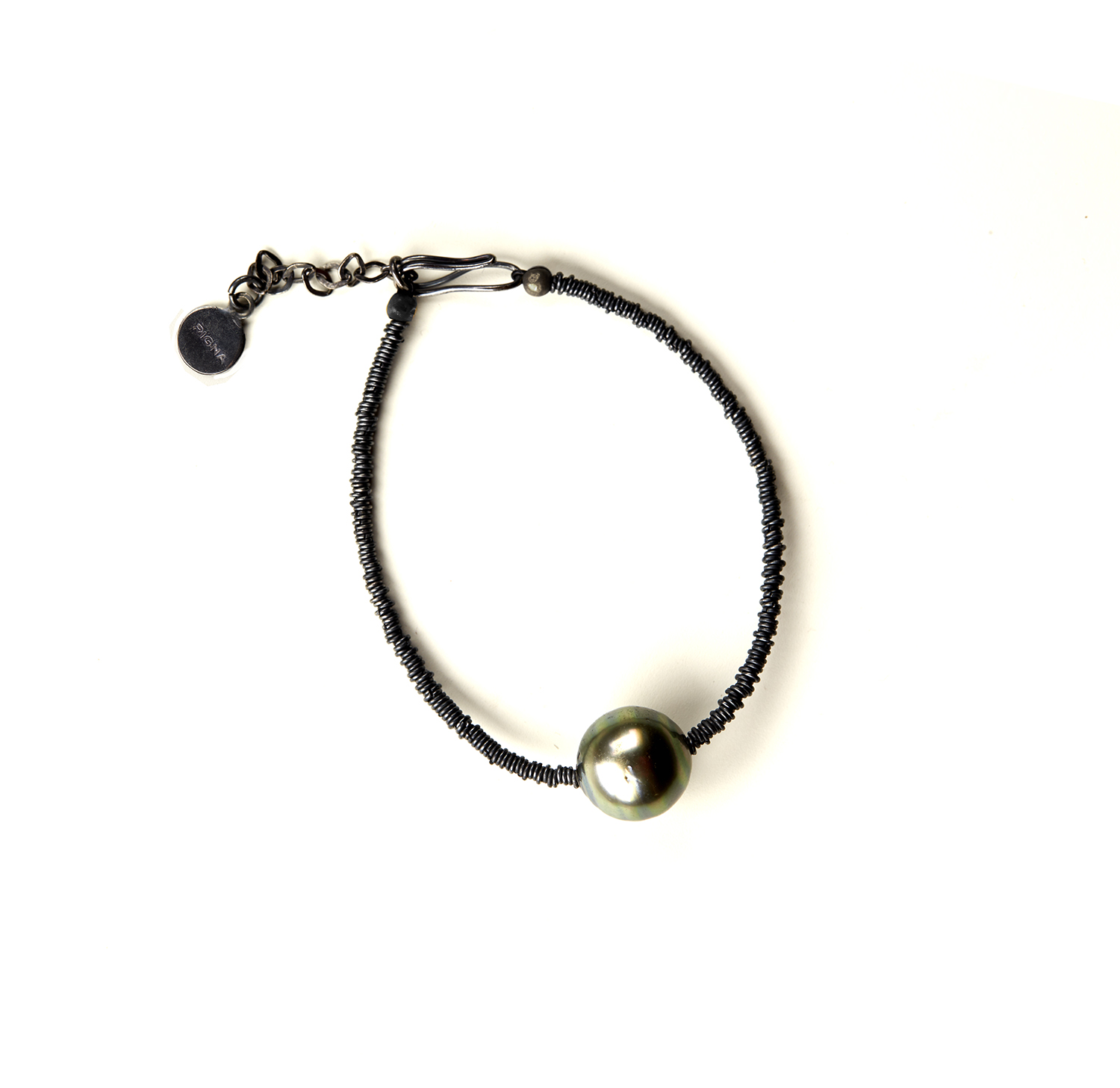 aaa pearl bracelet paradise black bracelets mm freshwater collections