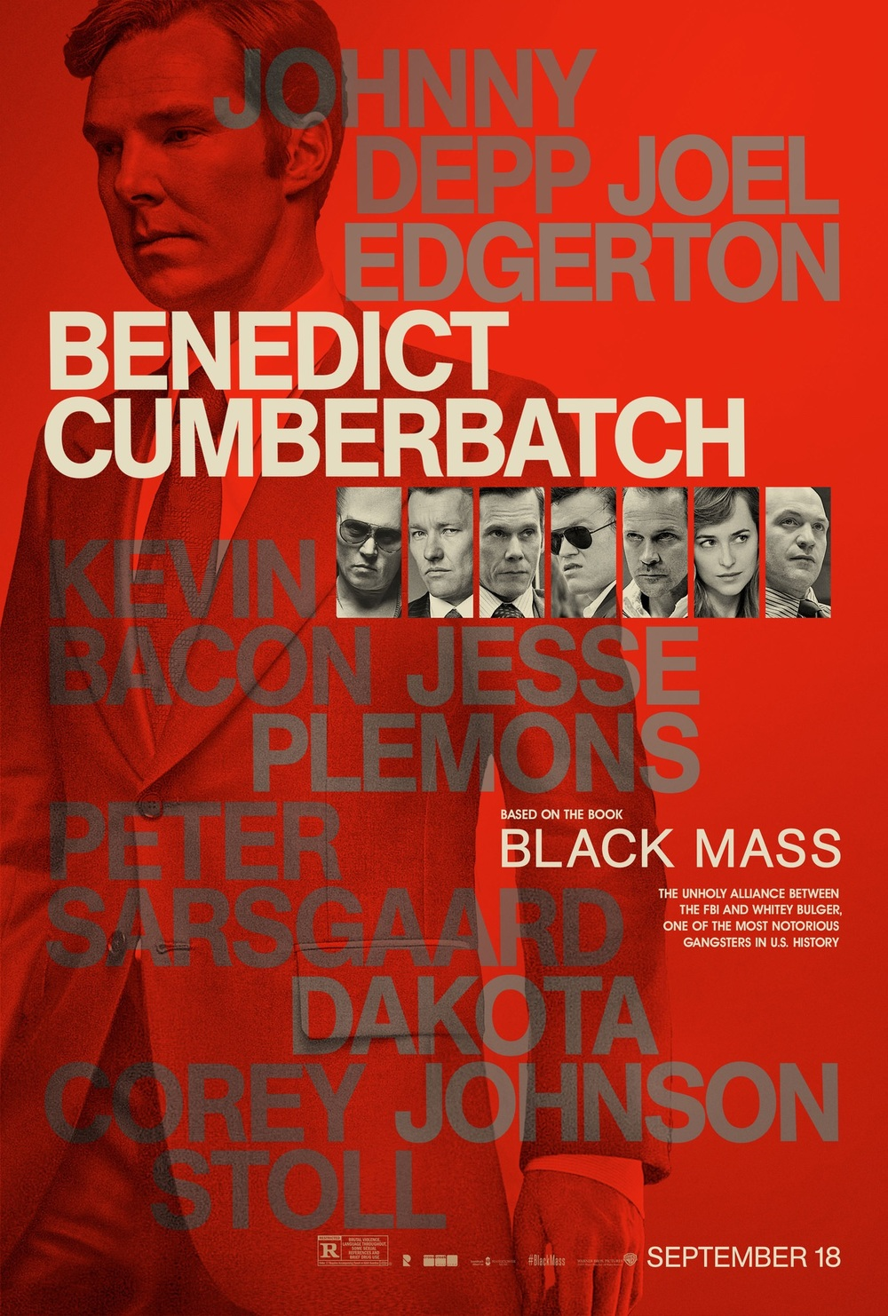Black mass poster 4 Benedict Cimberbatch