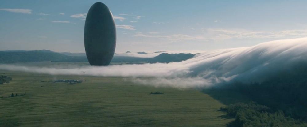 映画「メッセージ」宇宙船