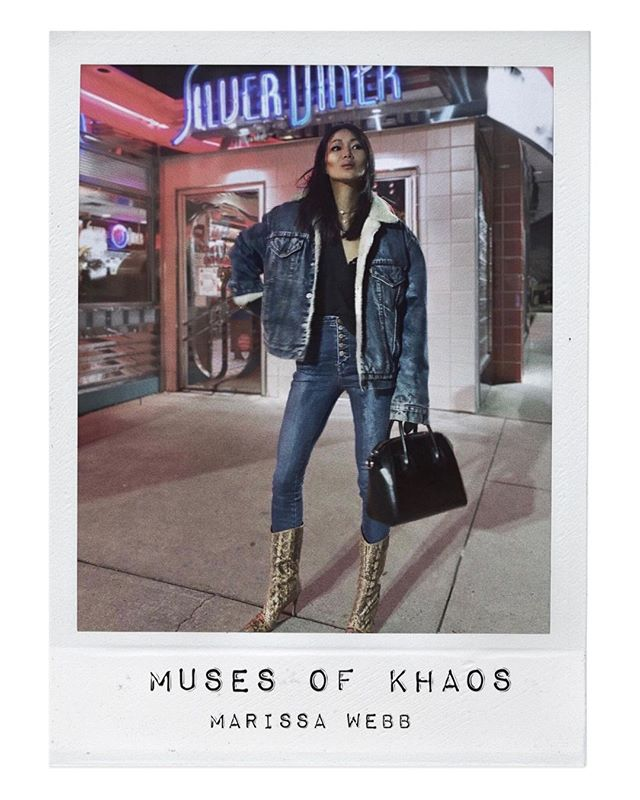 THE MUSES OF KHAOS //⁣ MARISSA WEBB⁣ ⁣ A badass designer with an amazing style aesthetic is what always keeps me so inspired!  On top of it all, gorgeous!  She's the whole style package. ⁣ ⁣ #rockchic #celebrity #celebritystyle #celebstyle #stylistlife #fashion #jewelry #model #styles #babe #stylist #style #rockchic #style #stylish  #fashiondiaries #stylist #wardrobestylist #fashionportrait #muses #muse #design #fashiondesign #fashiondesigner #marissawebb #fashionmuse #fashionstylist #fashionstyle #fashionable #fashionistas