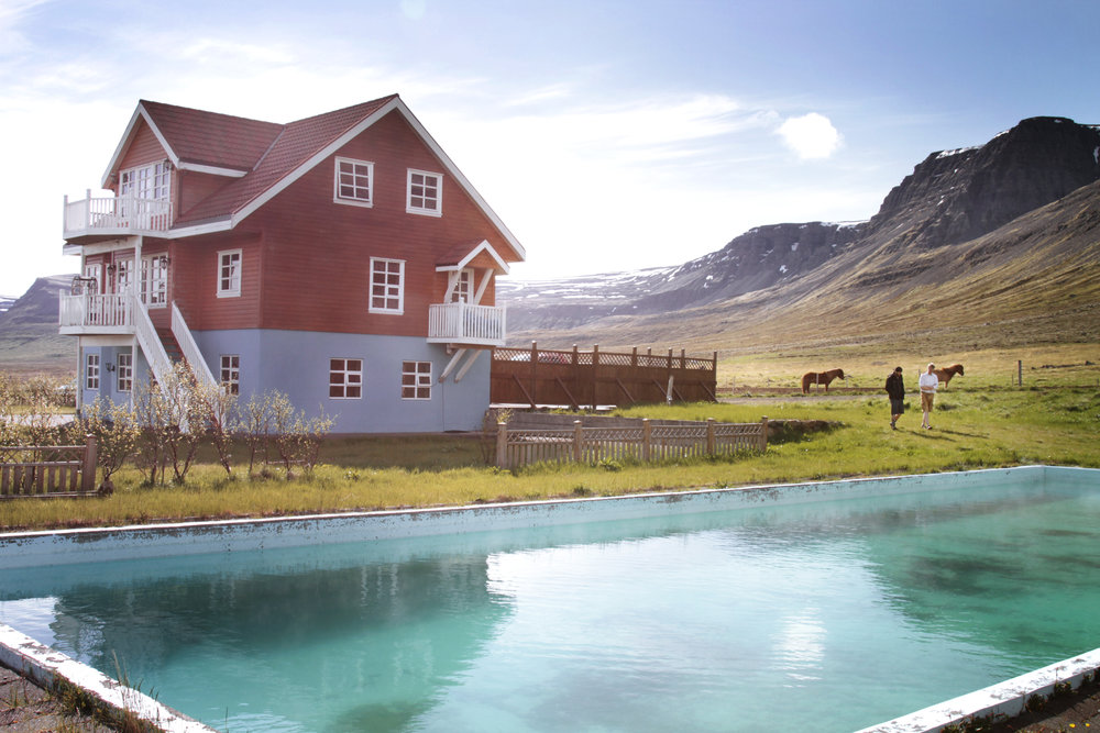 ranch house - westfjords, iceland