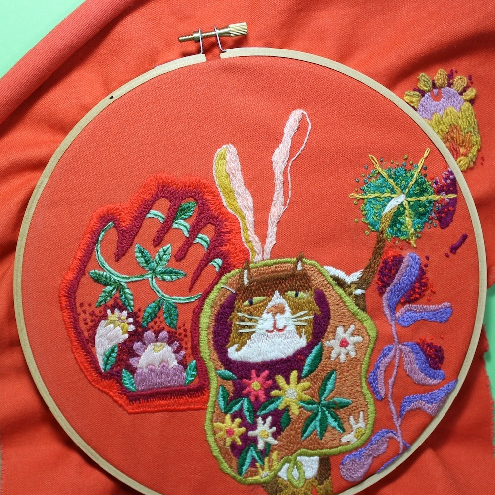 Craft With Conscience Sarah K Benning Contemporary Embroidery
