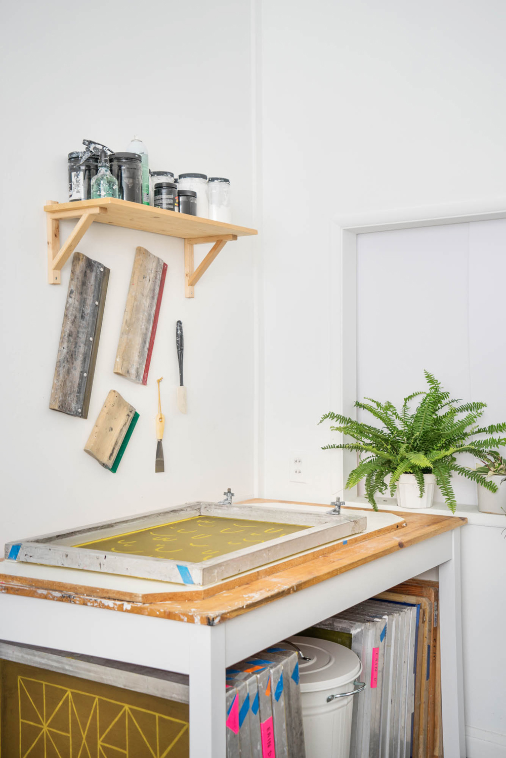 Erin Dollar Screenprinting Studio.jpg