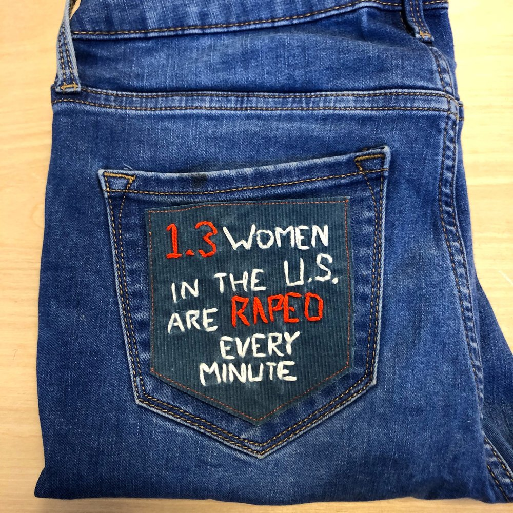 1.3 women in the U.S. are Raped every minute-blue and orange.JPG