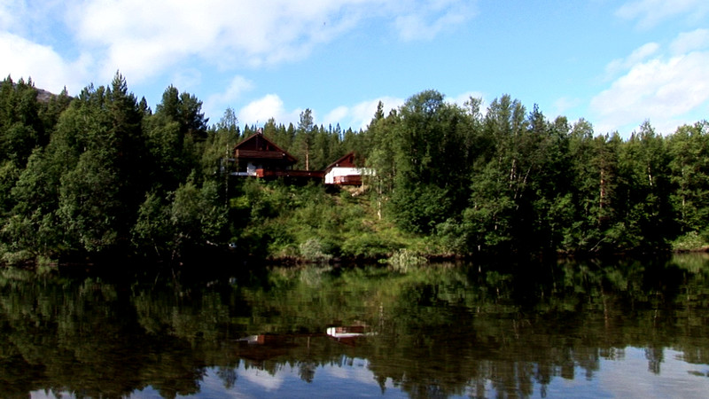 Reisastua from the far side of the river