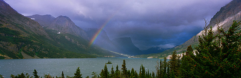 Glacier National Park,   US and Canadian World Heritage Site,   Biosphere Reserve, Montana