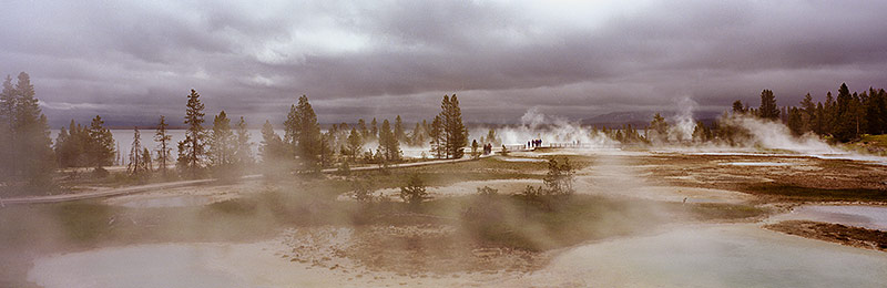 Yellowstone National Park, World Heritage Site, Biosphere Reserve, Wyoming, Montana, and Idaho