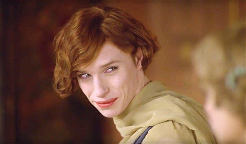 Eddie Redmayne as Lili Elbe  ©Working Title