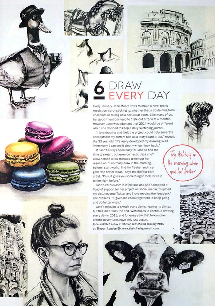 Artists & Illustrators Magazine, Dec 2014