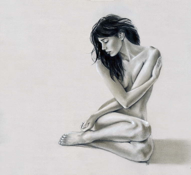 Seated Nude, 2015