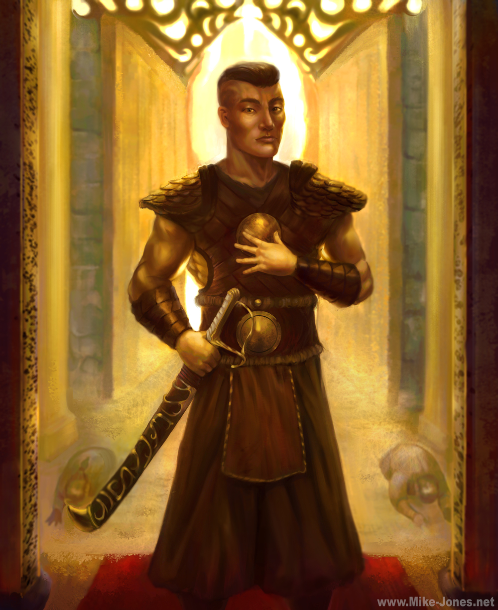 mike jones-mongol knight.jpg