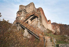 Poenari Castle (True home of Vlad the Impaler?)
