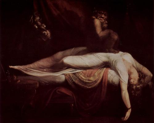 Le Cauchemar (The Nightmare) - Johann Heinrich Füssli