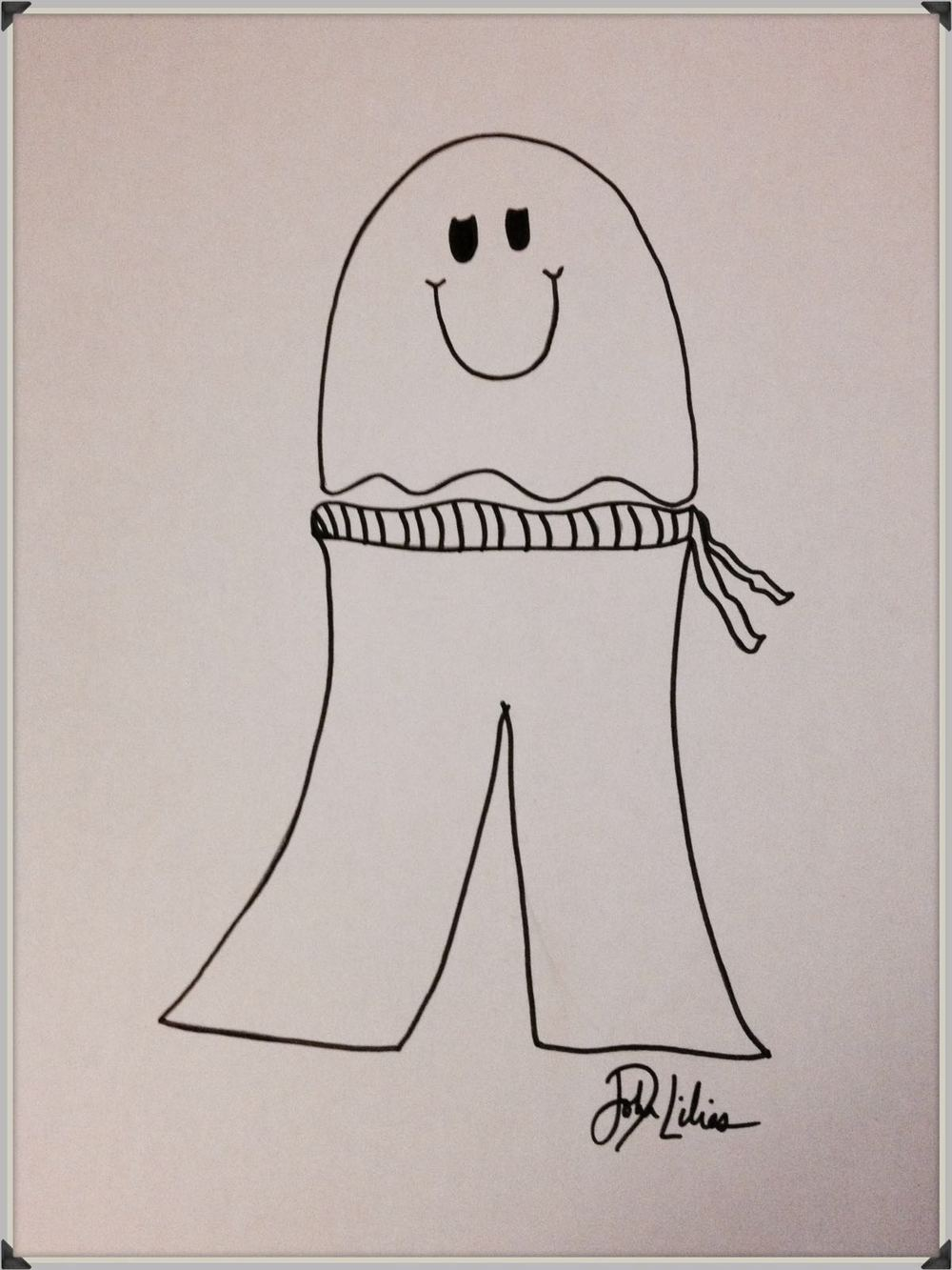 *Illustration may not be an accurate representation of the real ghosty